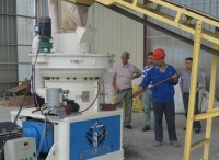 Wood Pellets Machine